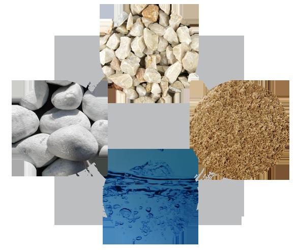 ingredienti calcestruzzo
